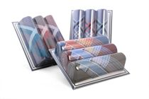 A set of dark men´s handkerchiefs in a popular box Ripples - 3 pcs. ( code M13 )