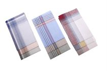 A set of light working men´s handkerchiefs in a polybag - 6 pcs. ( code M28 )