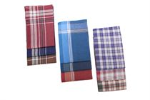 A set of dark working men´s handkerchiefs in a polybag - 6 pcs. ( code M27 )