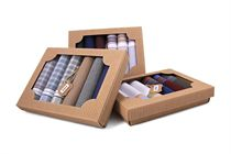 Gift set men´s handkerchiefs in eco box - 6 pcs. ( code M50 )
