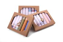 Gift set quality ladies´ handkerchiefs in eko-box - 6 pcs ( code L 45 )