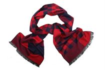 Quality men's scarf made of 100% viscose (code B 07)