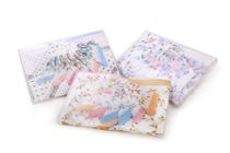 A set printed ladies handkerchiefs in a box - 6 pcs ( code L 03 )