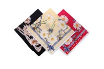 Quality printed lady's handkerchief in polybag - 1 pc ( code L 10 )