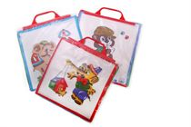 A set of children´s printed handkerchiefs in the carrier bag - 6 pcs. ( code C02 )