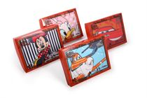 Gift box quality children´s handkerchiefs printed with Disney motives in the box - 3 pcs ( code C 07 )