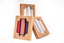 Gift set men´s hankerchiefs in eco box - 3 pcs. ( code M50 )