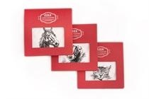 Dárkové balení bílého dámského kapesníku - Animal Collection - 1 ks ( kód L 35 - kotě, štěně, kůň )