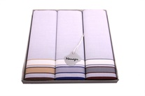 LAST PIECES IN STOCK! Gift set men´s luxury handkerchiefs - 3 pcs. ( code M38 )
